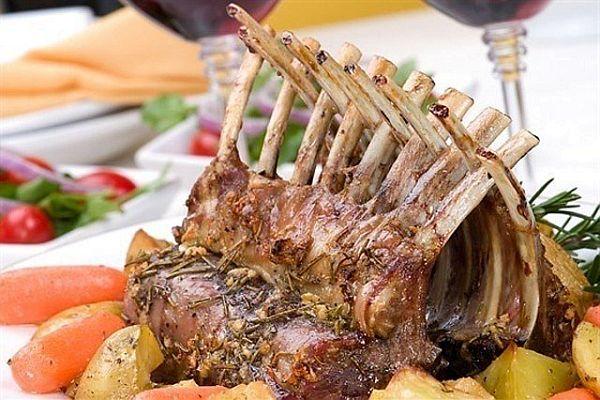 Запеченная баранина ребра в духовке рецепт